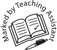 Marked by Teaching Assistant