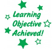 Learning objective achieved