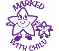 Marked with child