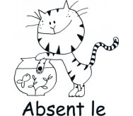 Absent le