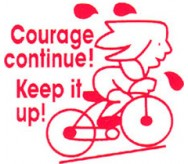 Courage continue